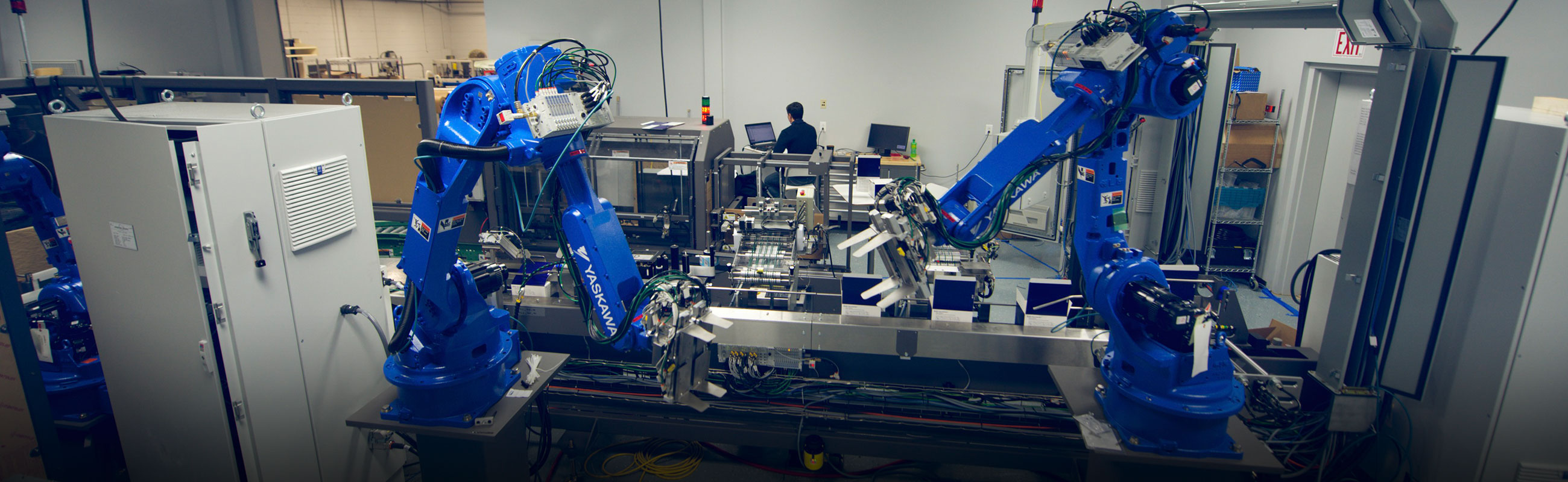 Yaskawa packaging robotics design automtion