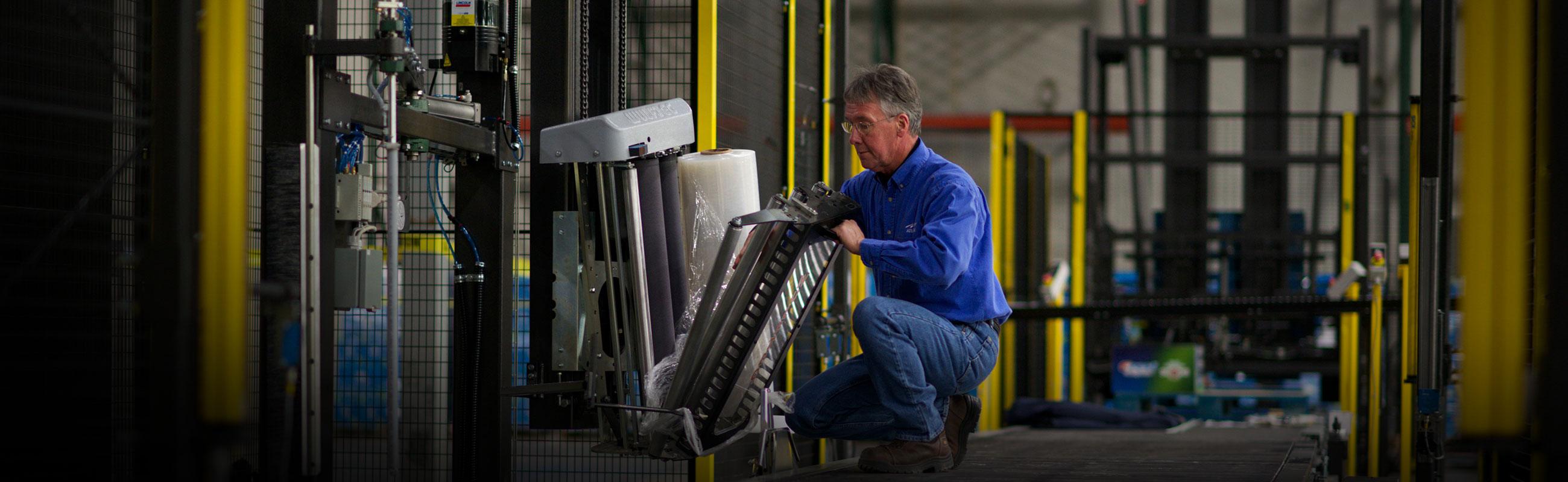 Ken fields automatic stretch wrapper tech service atlantic