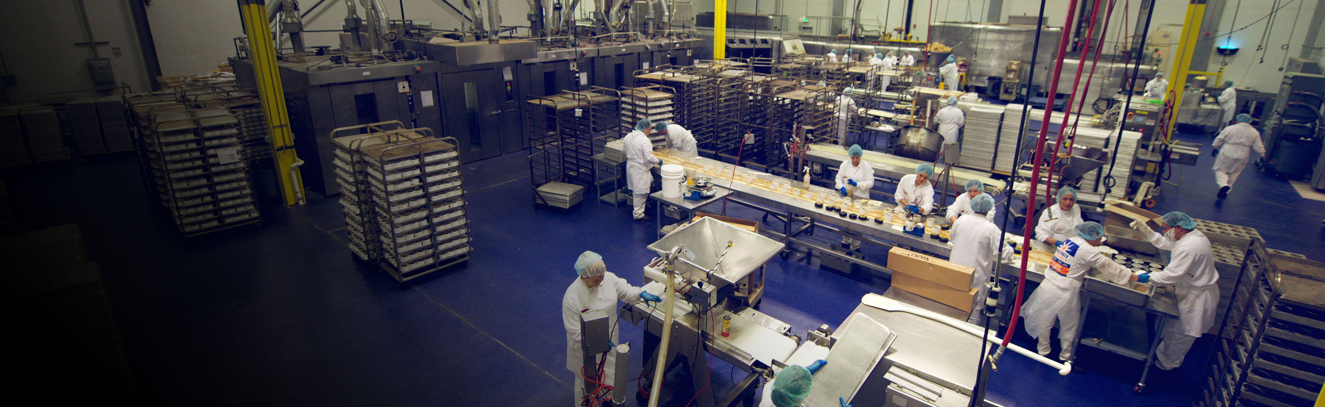 Bakery industry shrink packaging