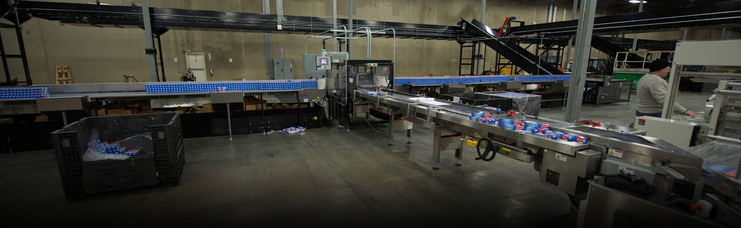 Contract packaging equipment materials expertise