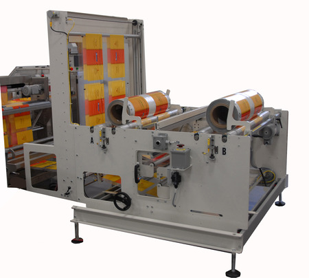 Large texwrap film splicing system